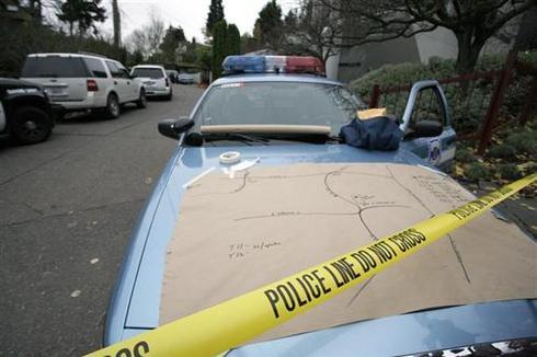 Hunt for cop killer