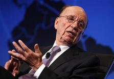 """<p>Rupert Murdoch, il """"mogul"""" dei media internazionali che in Italia è patron di Sky e del nuovo canale digitale terrestre Cielo. La foto è stata scattata a Washington lo scorso 16 novembre. REUTERS/Kevin Lamarque</p>"""