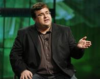 <p>Reid Hoffman, presidente di LinkedIn. REUTERS/Fred Prouser (UNITED STATES MEDIA BUSINESS)</p>