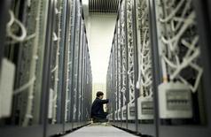 <p>L'interno di un centro dati. REUTERS</p>