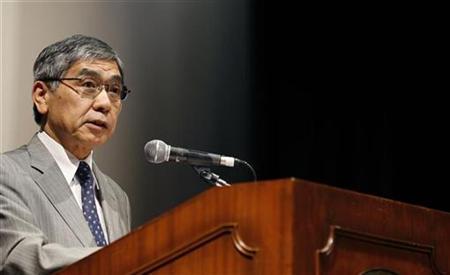 Asian Development Bank President Haruhiko Kuroda attends a seminar in Singapore June 22, 2009. REUTERS/Pablo Sanchez