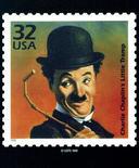<p>Памятная почтовая марка с изображением Чарли Чаплина. 25 декабря 1977 года умер Чарли Чаплин, американский комик и актер немого кино.</p>