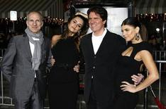 "<p>Actresses Fergie (R) and Penelope Cruz (2nd L), stars of director Rob Marshall's new film ""Nine"", pose with Marshall (2nd R) and producer and choreographer John Deluca at a special screening of the film in Los Angeles, California, December 9, 2009. REUTERS/Fred Prouser</p>"