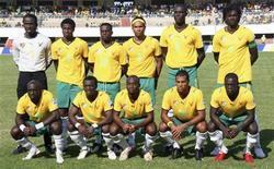 <p>Seleção do Togo em foto de arquivo. Veículo que levava equipe foi atacado por homens não identificados. REUTERS/Noel Kokou Tadegnon/Files</p>
