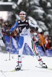 <p>Arianna Follis. atleta azzurra di sci di fondo. REUTERS/Giampiero Sposito</p>