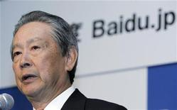 <p>Nobuyuki Idei, direttore di Baidu, in una foto d'archivio. REUTERS/Yuriko Nakao</p>