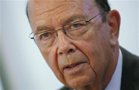 Wilbur Ross, chairman and CEO of WL Ross & Company LLC, speaks at the 2009 Reuters Restructuring Summit in New York in this September 29, 2009 file photo. REUTERS/Mike Segar