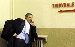 <p>Niccolò Ghedini, avvocato del presidente del Consiglio Silvio Berlusconi. REUTERS/Paolo Bona</p>