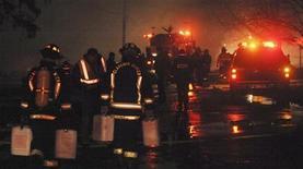 <p>Vigili del fuoco di New York al lavoro in occasione di un incendio. REUTERS/Gary Wiepert</p>
