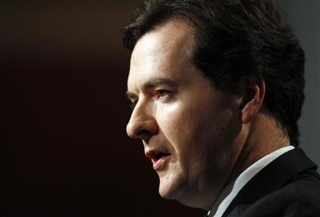 Shadow chancellor George Osborne speaks at a Reuters Newsmaker event in London October 26, 2009. REUTERS/Kevin Coombs