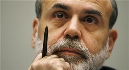 Chairman of the Federal Reserve Ben Bernanke listens during a hearing held by the House Financial Services Committee on Capitol Hill in Washington in this September 20, 2007 file photo. REUTERS/Kevin Lamarque