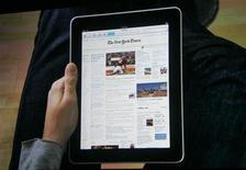 "<p>Il nuovo ""iPad"" di Apple. REUTERS/Kimberly White</p>"