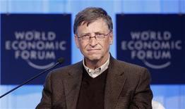 <p>Il fondatore di Microsoft Bill Gates. REUTERS/Christian Hartmann</p>