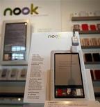 <p>Un'immagine di Nook, il lettore elettronico di Barnes & Noble. REUTERS/Shannon Stapleton</p>