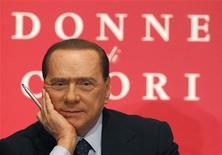 <p>Silvio Berlusconi in foto d'archivio. REUTERS/Alessandro Bianchi</p>