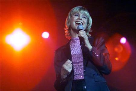 Olivia Newton-John performs in a file photo. REUTERS/Bobby Yip