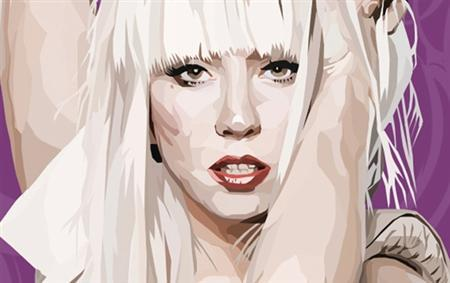 A comic rendering of popular musician Lady Gaga adorns the cover of a comic book published by Blue Water Productions in this undated handout photo. REUTERS/Handout/Blue Water Productions