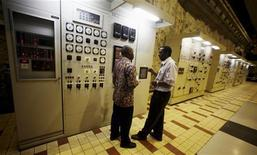 <p>Kiambere Power Station plant in Machakos District December 8, 2006. REUTERS/Antony Njuguna</p>