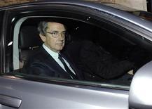 <p>Franco Bernabè, amministratore delegato Telecom Italia, in foto d'archivio. REUTERS/Alerssandro Bianchi</p>