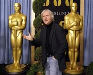 "<p>James Cameron, nominee for best director for ""Avatar"", arrives at the nominees luncheon for the 82nd annual Academy Awards in Beverly Hills, California February 15, 2010. REUTERS/Mario Anzuoni</p>"
