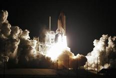 <p>The space shuttle Endeavour lifts off from launch pad 39-A at the Kennedy Space Center in Cape Canaveral, Florida, February 8, 2010. REUTERS/Thom Baur</p>