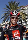 <p>Alejandro Valverde in foto d'archivio. REUTERS/Eric Gaillard</p>