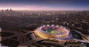 """<p>Сгенерированная компьютером фотография будущего Олимпийского стадиона в Лондоне. """"Вест Хэм"""" сможет прекрасно сосуществовать с легкой атлетикой на Олимпийском стадионе после Олимпиады 2012 года, считает заместитель председателя клуба Карен Брэди. REUTERS/Olympic Delivery Authority/Handout/Files</p>"""