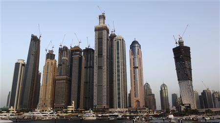 A view of high rise buildings is seen in Dubai March 23, 2010. .REUTERS/Ahmed Jadallah