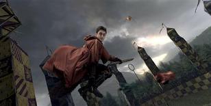 """<p>Fotografía entregada a Reuters por el parque temático estadounidense Universal Orlando de """"Harry Potter and the Forbidden Journey"""". El paseo acaba de volverse más alocado para los seguidores de Harry Potter que están esperando el próximo estreno de los libros que marcan récords de ventas y las películas que son líderes de la taquilla. REUTERS/Universal Orlando/Handout</p>"""