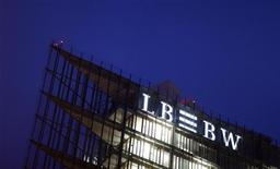 <p>The headquarters of Germany's biggest landesbank, LBBW, are pictured in Stuttgart December 7, 2009. REUTERS/Johannes Eisele</p>