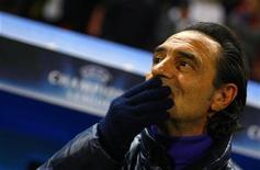 <p>L'allenatore della Fiorentina Cesare Prandelli. REUTERS/Bogdan Cristel (ROMANIA)</p>