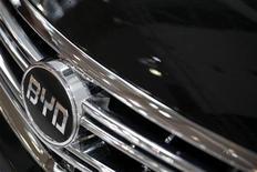 <p>Una vettura BYD. REUTERS/Tyrone Siu (CHINA TRANSPORT POLITICS BUSINESS)</p>