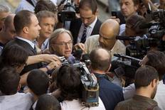 <p>Il patron della Fiorentina Diego Della Valle, Firenze, 28 settembre 2009. REUTERS/Alessandro Bianchi</p>