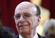 <p>Ruper Murdoch, amministratore delegato di News Corp, in foto d'archivio. REUTERS/Lucas Jackson</p>