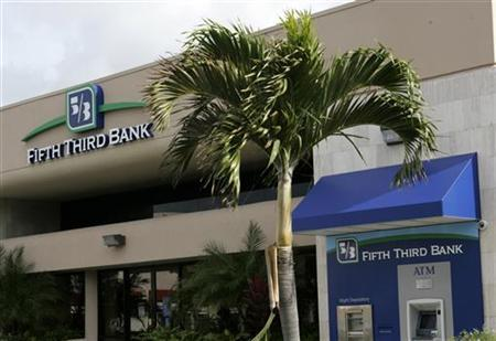 A branch location of Fifth Third Bank in Boca Raton, January 21, 2010. REUTERS/Joe Skipper
