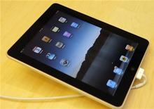 <p>L'iPad di Apple. REUTERS/Robert Galbraith (UNITED STATES - Tags: SCI TECH BUSINESS)</p>