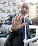 <p>Luciano Moggi, ex dg della Juventus, in foto d'archivio. REUTERS/Alessandro Bianchi</p>