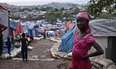 Haiti's tent cities