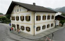 <p>La casa natale di Papa Benedetto XVI. REUTERS/Alexandra Winkler</p>