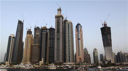 A view of high rise buildings is seen in Dubai March 23, 2010. REUTERS/Ahmed Jadallah
