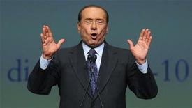 <p>Silvio Berlusconi in foto d'archivio. REUTERS/Paolo Bona</p>