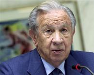 <p>Ex-presidente do COI Juan Antonio Samaranch morreu aos 89 anos em Barcelona. 17/04/2001 REUTERS/Files</p>