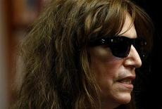 <p>U.S. rock singer Patti Smith is seen at a book signing event in Melbourne October 10, 2008. REUTERS/Mick Tsikas</p>
