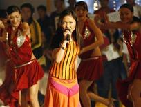 <p>Filipino singer Charice Pempengco performs at a local television program in Manila January 5, 2008. REUTERS/Cheryl Ravelo</p>