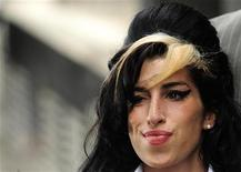 <p>La cantante inglese Amy Winehouse REUTERS/Toby Melville</p>