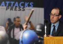 <p>Joel Simon, direttore esecutivo della Commissione per la Protezione dei Giornalisti, in foto d'archivio. REUTERS/Yuriko Nakao</p>