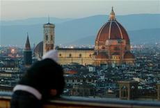 <p>Vista di Firenze dall'alto, foto d'archivio. REUTERS/Paolo Cocco</p>