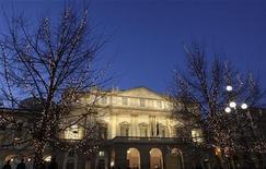 <p>Teatro La Scala in foto d'archivio. REUTERS/Stefano Rellandini</p>