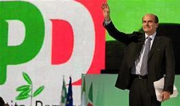 <p>Pier Luigi Bersani, leader del Pd, in foto d'archivio. REUTERS/Max Rossi</p>
