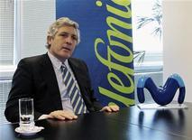 <p>Eduardo Caride, Presidente di Telefonica Argentina REUTERS/Walter Bianchi</p>